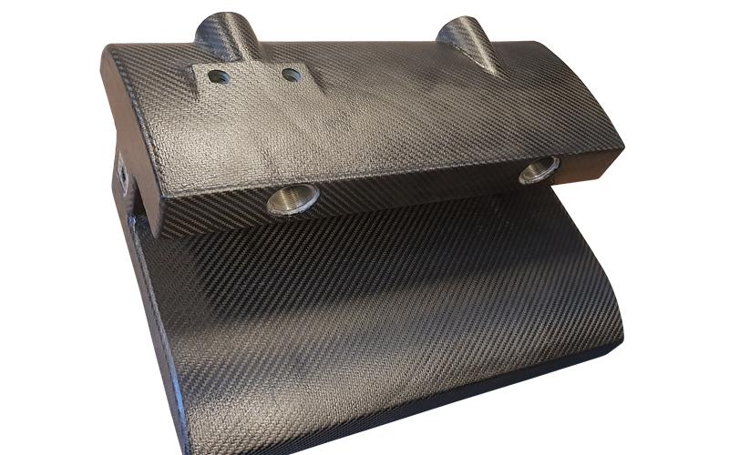 Carbon fiber reinforced 3d-printed core