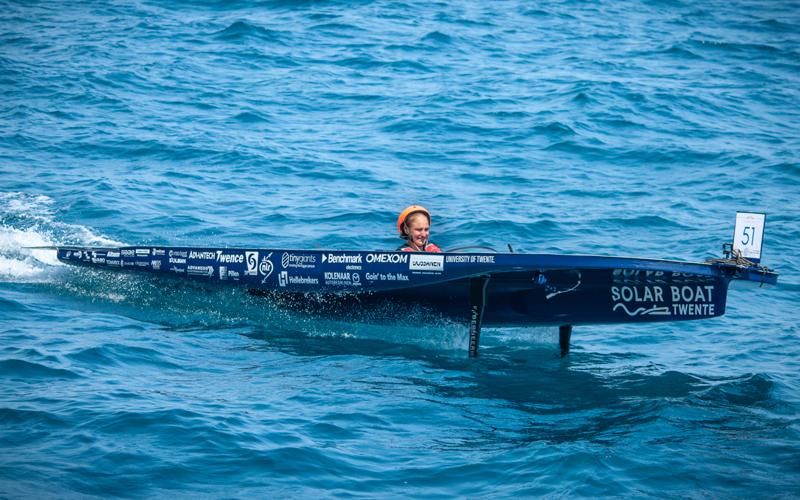 Hydrofoils for Solarboat Twente